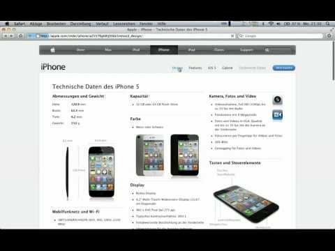 0 iPhone 5 angeblich auf Apple-Website aufgetaucht - Schickes Konzept [Video] Apple Apple iPhone 5 Smartphones