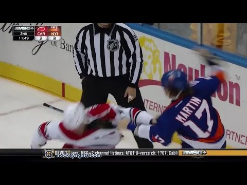 Matt Martin vs. Jay Harrison