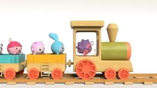 Мультики про транспорт - Малышарики - Умные песенки для самых маленьких