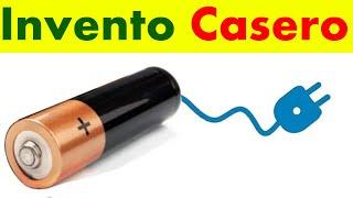 Ahorra dinero con este invento, batería infinita! Invento Casero #3