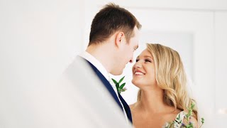 Clint + Hannah - Gorgeous Intimate Wedding During COVID-19