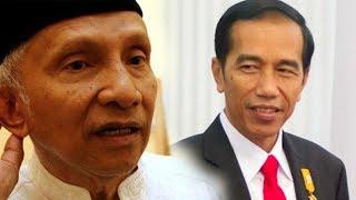 Sebelum Diperiksa Polisi, Amien Rais Minta Presiden Jokowi Copot Kapolri Tito Karnavian