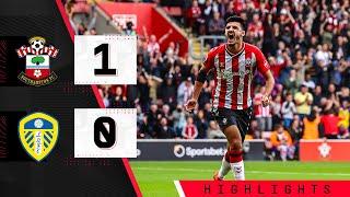90-SECOND HIGHLIGHTS: Southampton 1-0 Leeds United | Premier League