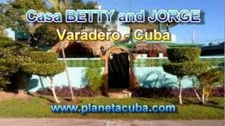 preview picture of video 'VARADERO CASA BETTY AND JORGE A VARADERO CUBA'