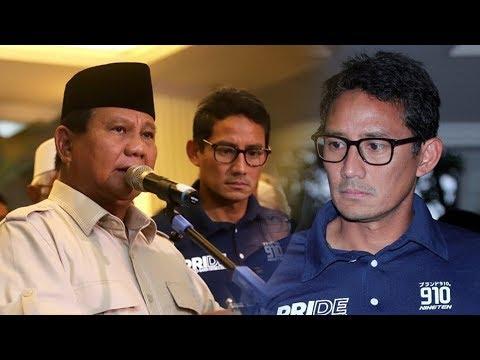 Pakar Bahasa Tubuh Sebut Sandiaga Uno Dalam Tekanan Berat Saat Deklarasi Kemenangan Bersama Prabowo