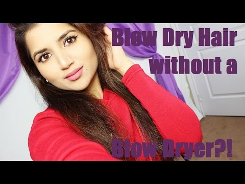 Hair Tutorial | Blow Dry Hair without a Blow Dryer | Fictionally Flawless