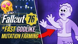 Fallout 76 - *FASTEST* MUTATION FARMING!! (NO COOLDOWN) // Guides and Glitches