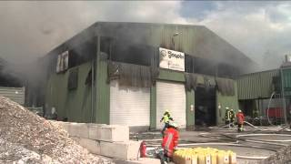 preview picture of video 'Großbrand in Bremervörde'