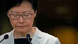 video: Hong Kong leader Carrie Lam recorded saying she 'would resign if she could'
