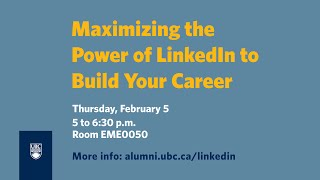 Maximizing the Power of LinkedIn