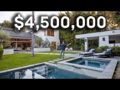 $4.5 MILLION LOS ANGELES PRIVATE GETAWAY MANSION!