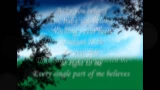 Faith Hill - Baby you belong Lyrics