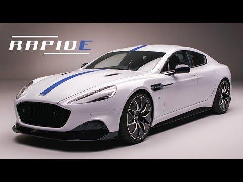 Aston Martin Rapide E: Goodbye V12, Hello EV | Carfection 4K