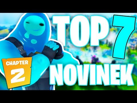 TOP 7 UŽITEČNÝCH RAD DO FORTNITE CHAPTER 2!