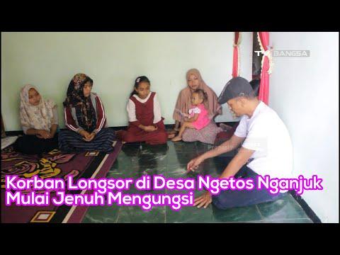 Korban Longsor di Desa Ngetos Nganjuk Mulai Jenuh Mengungsi