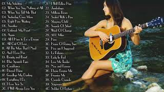 Top 50 Guitar Love Songs Instrumental  Soft Relaxing Romantic Guitar Music