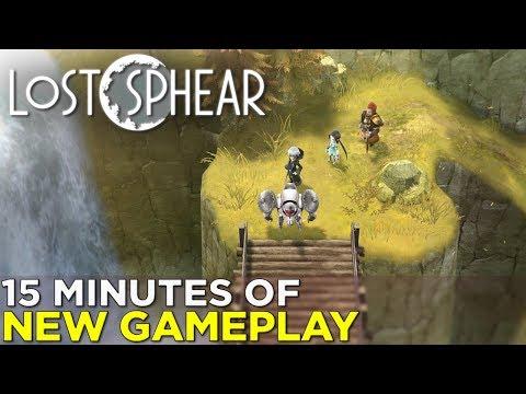 Gameplay de Lost Sphear