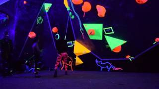 U.V. Bouldering Comp (Final Problem) by Louis Parkinson