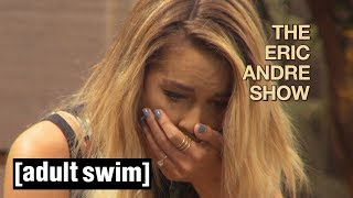 The Eric Andre Show | Grossest Interview Ever? (Lauren Conrad) | Adult Swim UK 🇬🇧
