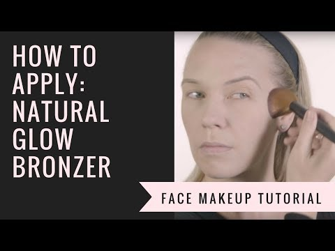How to Apply Natural Glow Bronzer | Afterglow Cosmetics