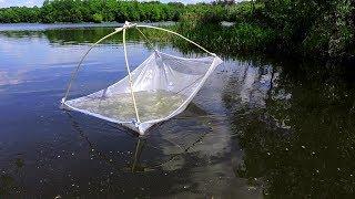 Как сделать подсачник для рыбалки дома