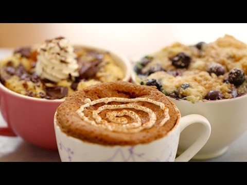 Video 1 Minute Microwave Mug Breakfasts (with Egg-Free recipes) - Gemma's Bigger Bolder Baking Ep 76