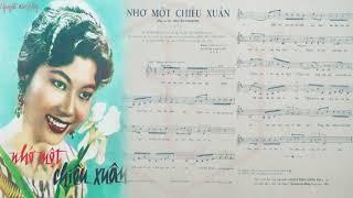 🎵 Nhớ Một Chiều Xuân (Nguyễn Văn Đông) Anh Khoa Pre 1975 | Tờ Nhạc Xưa
