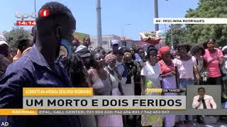 Acidente na Avenida Deolinda Rodrigues faz um morto e dois feridos