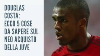 Douglas Costa: 5 cose da sapere sul neo acquisto della Juventus
