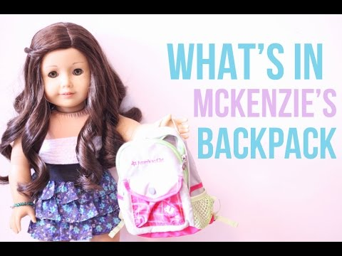 What's In My Backpack?~ AGSM