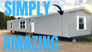Amazing How Far Single Wide Mobile Homes Have Come! Mobile Home Tour That Shows All.