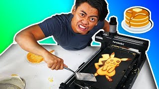 3D PANCAKE ART PRINTING ROBOT!