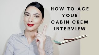 CABIN CREW Interview tips| Days with Kath