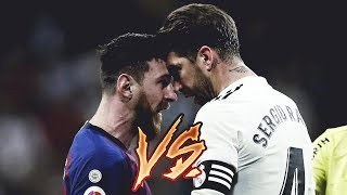 Sergio Ramos Vs Lionel Messi  2009/2019 (Best Fights & Angry Moments)