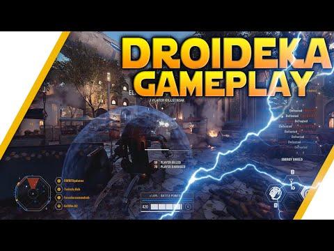 DROIDEKA GAMEPLAY: New Naboo CS Map - Star Wars Battlefront 2