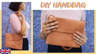 How To Sew A HANDBAG With Pattern / DIY MODE Tutorial