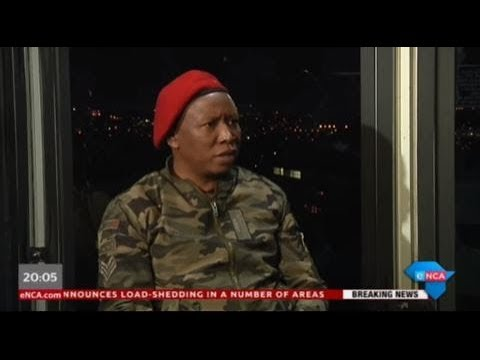 As It Happens with EFF leader Julius Malema. Part 1