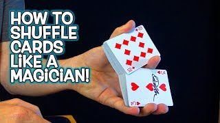 How to SHUFFLE Cards Like a Magician! TOP 5!