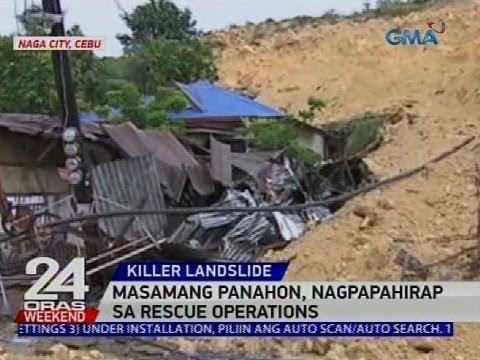 [GMA]  Masamang panahon, nagpapahirap sa rescue operations