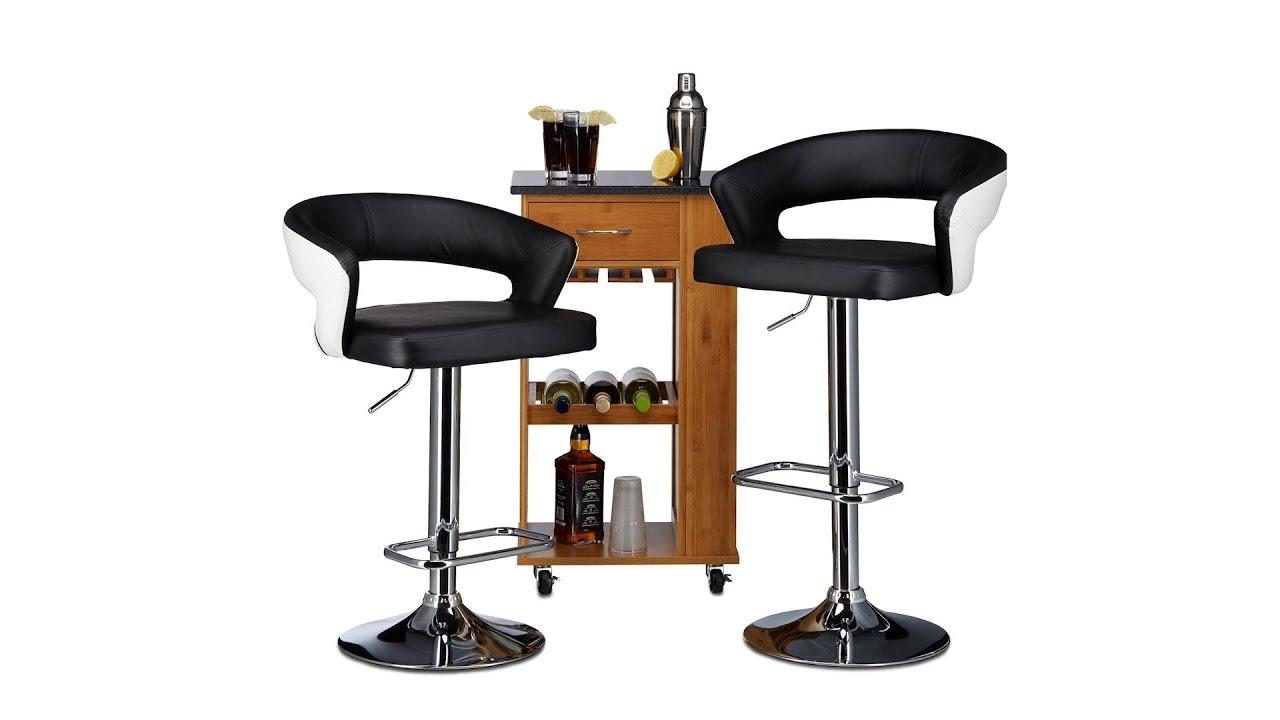 Höhenverstellbare Barhocker barhocker höhenverstellbar 2er set zweifarbig kaufen relaxdays de