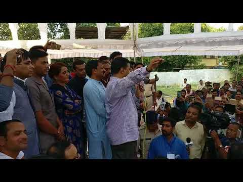 भोपाल मध्य प्रदेश में संविदा कर्मचारी-अधिकारी महासंघ के आंदोलन में पहुंचे AAP संयोजक का पूरा संबोधन