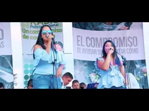CORAZON MENTIROSO - CLAUDIA KIÑONEZ  Y ENCANTO (VIDEO LIVE HD)