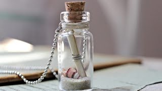Make Your Own Message In A Bottle |Diy Gifts