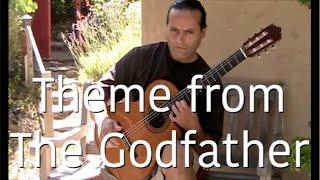 The Godfather Music (Theme)  Guitar - Michael Marc (Gypsy Flamenco Masters)