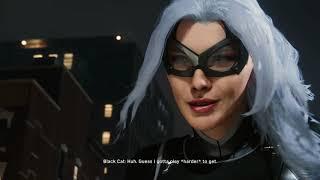 SPIDER-MAN PS4 - The Heist DLC Black Cat Boss Fight (Chase Scene)