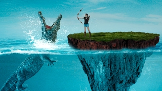Sea Crocodile Art Fantacy | Photo Manipulation