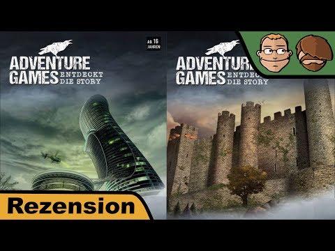 Adventure Games: Entdeckt die Story (Das Verlies, Die Monochrome AG) - Brettspiel - Review