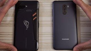 Asus ROG Phone vs Pocophone F1 - Speed Test!