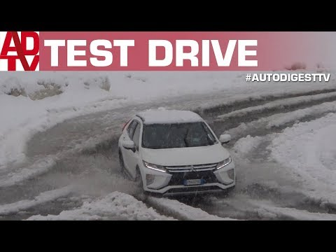 MITSUBISHI ECLIPSE CROSS 4x4: TEST DRIVE SULLA NEVE