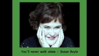 you'll never walk alone - Susan Boyle - Lyrics